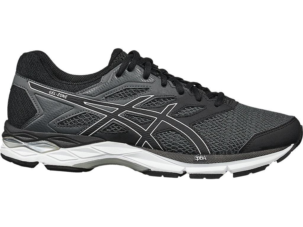 Men's GEL-ZONE 6   Black/Black   Chaussures running   ASICS Outlet