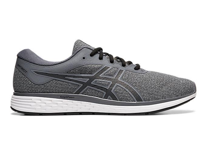 Men's PATRIOT 11 Twist   Sheet Rock/Black   Running Shoes   ASICS