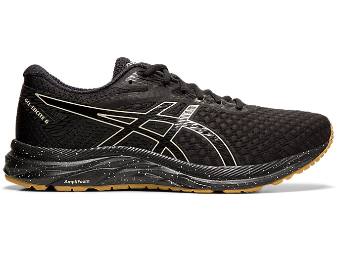 Men's GEL-EXCITE 6 Winterized   Black/ Putty   Running Shoes   ASICS