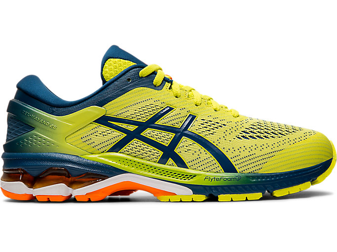 Alternative image view of GEL-KAYANO 26 KAI, SOUR YUZU/MAKO BLUE