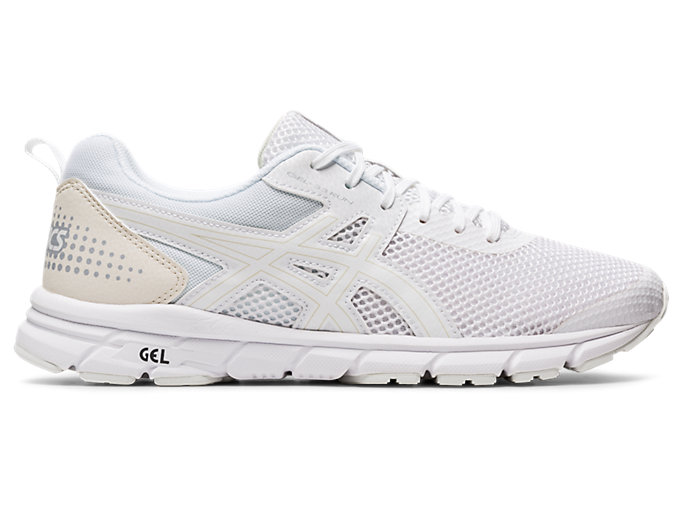 Right side view of GEL-33 RUN, WHITE/WHITE