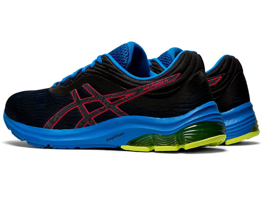 Men's GEL-PULSE 11 LITE-SHOW | Black/Laser Pink | Running Shoes ...