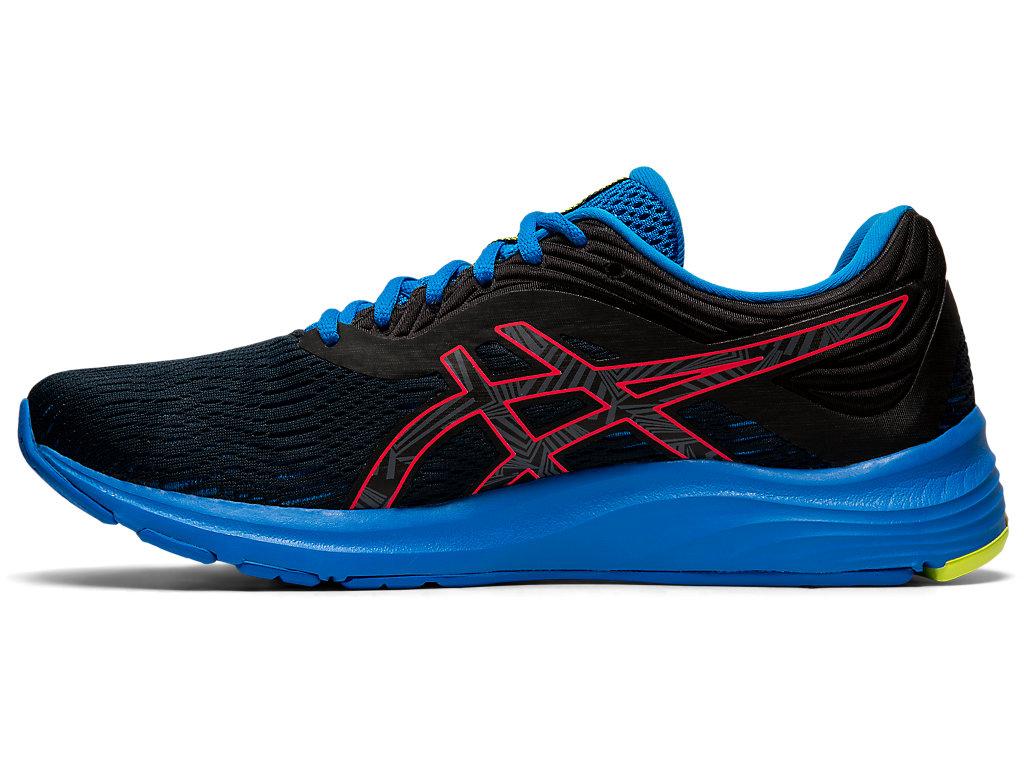 Men's GEL-PULSE 11 LITE-SHOW   Black/Laser Pink   Running Shoes ...