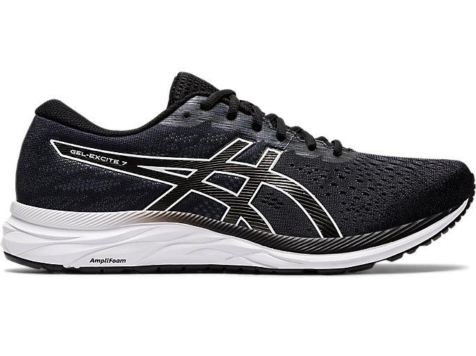 preocupación Onza preparar  Men's GEL-Excite 7 (4E) | Black/White | Running Shoes | ASICS