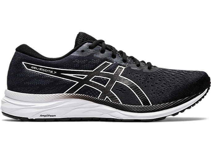 veneno Importancia patrocinador  Men's GEL-EXCITE 7 | BLACK/WHITE | Running Shoes | ASICS