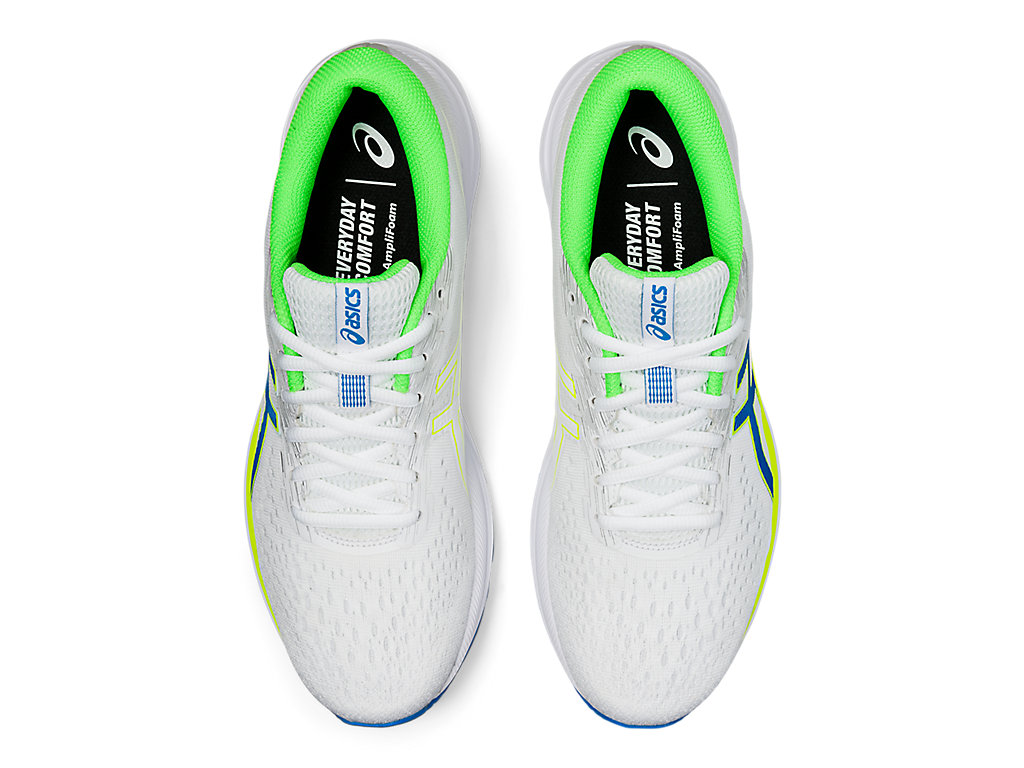 Men's GEL-Excite 7 | White/Safety Yellow | Running Shoes | ASICS