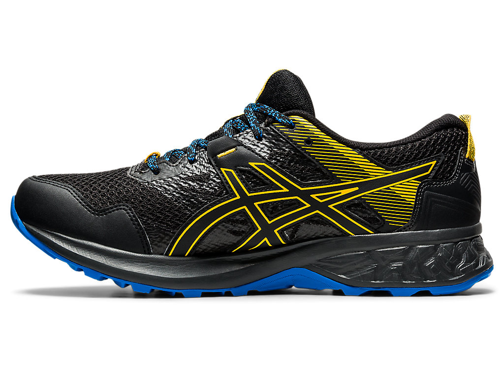 Men's GEL-SONOMA 5 G-TX | Black/Directoire Blue | Trail Running ...