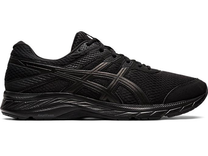 Men's GEL-CONTEND™ 6 | BLACK/BLACK | Zapatillas de Running ...