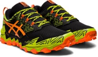 Zoom image of Alternative image view of GEL-FUJITRABUCO™ 8, Neon Lime/Shocking Orange