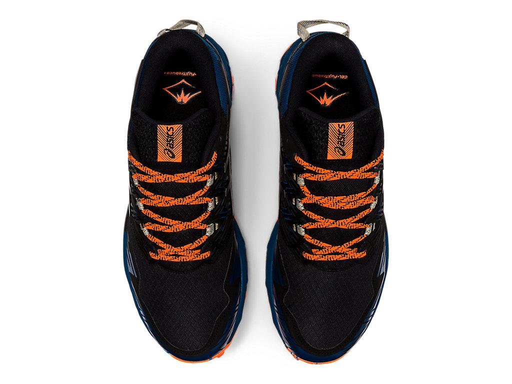 Men's GEL-FujiTrabuco 8   Directoire Blue/Black   Trail Running ...