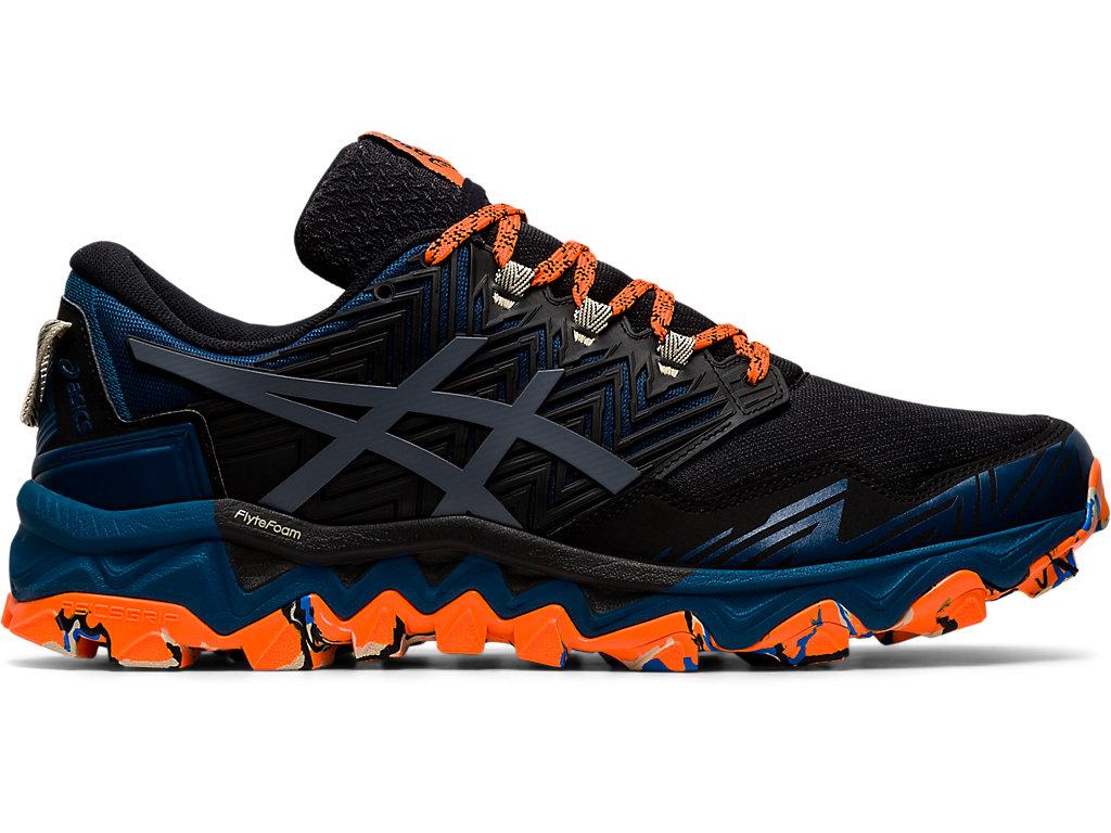 Men's GEL-FujiTrabuco 8 | Directoire Blue/Black | Trail Running ...