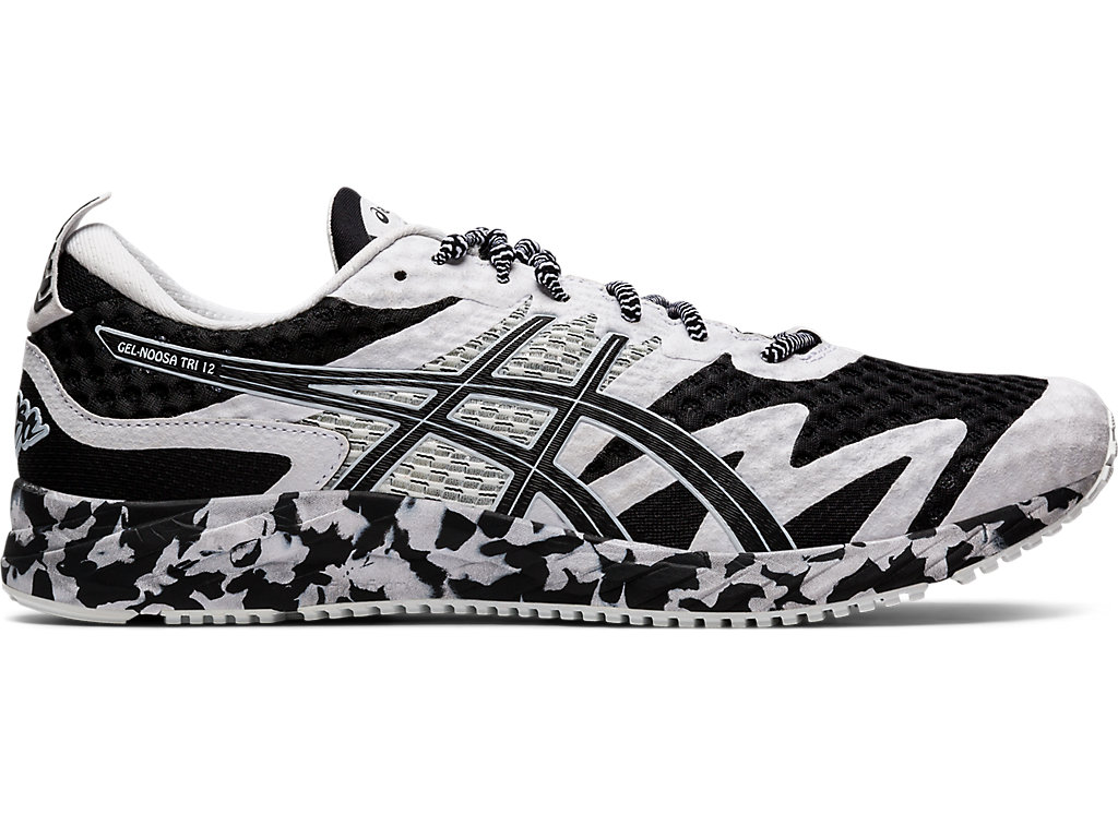 Men's GEL-NOOSA TRI 12 | Black/White | Running Shoes | ASICS