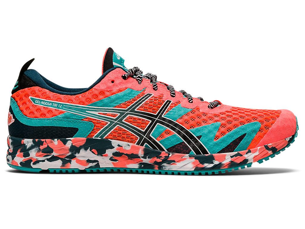 Men's GEL-NOOSA TRI 12 | Sunrise Red/Black | Running Shoes | ASICS