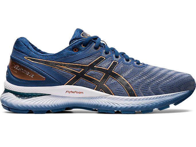 Alternative image view of GEL-NIMBUS 22, Glacier Grey/Graphite Grey
