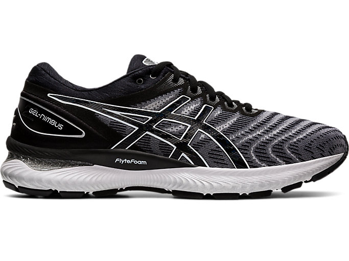 Men's GEL-NIMBUS™ 22 | WHITE/BLACK | Zapatillas de Running ...