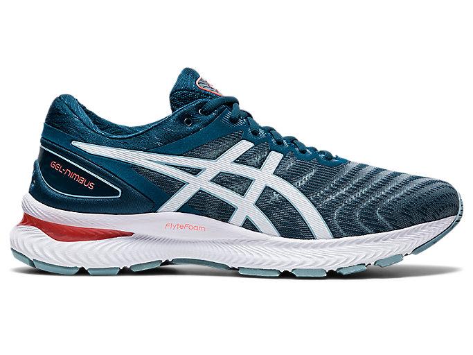 probable telegrama Hierbas  Men's GEL-NIMBUS 22 (4E) | Light Steel/Magnetic Blue | Running Shoes | ASICS