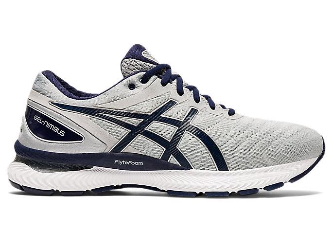 Men's GEL-NIMBUS 22 (2E)   Piedmont Grey/Peacoat   Running Shoes   ASICS