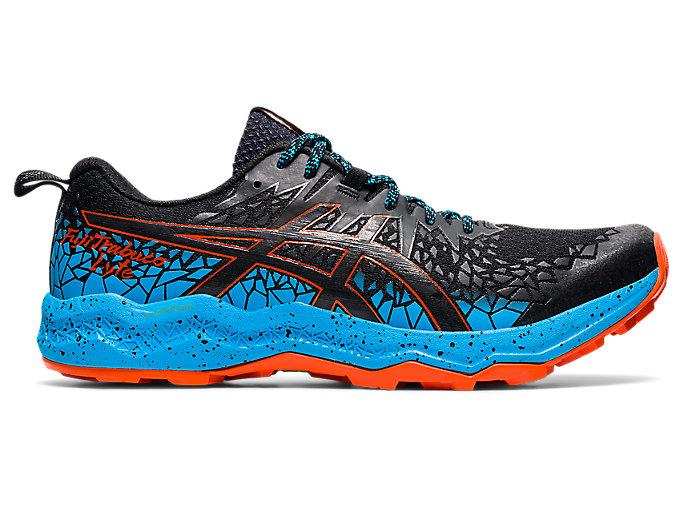 Men's FujiTrabuco Lyte | Black/Digital Aqua | Trail Running | ASICS