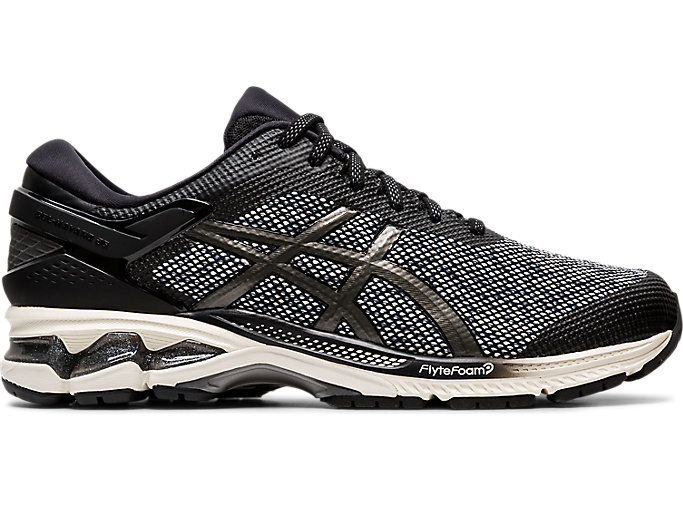Alternative image view of GEL-KAYANO 26 MX, BLACK/GUNMETAL