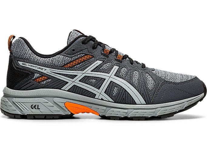 Men's GEL-Venture 7 MX | Sheet Rock/Habanero | Trail Running | ASICS