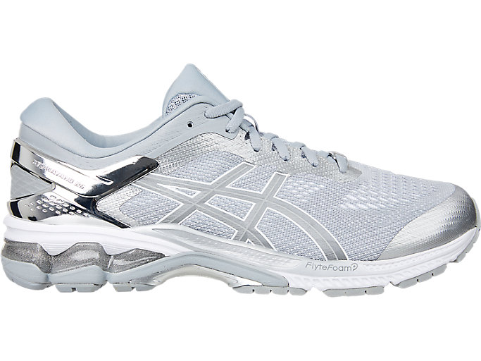 Alternative image view of GEL-KAYANO 26 PLATINUM, Piedmont Grey/Silver