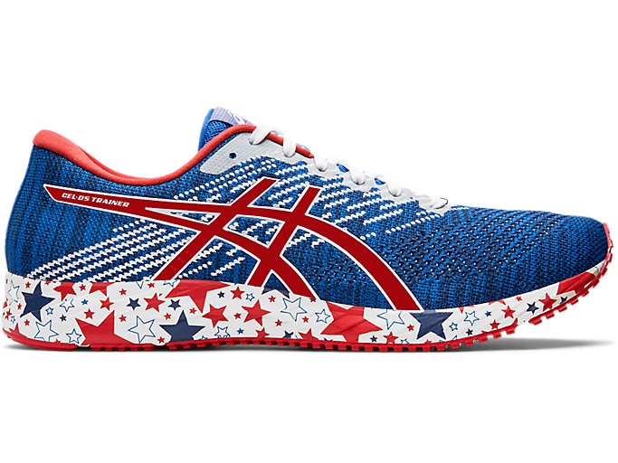 Men's GEL-DS TRAINER 24 | Imperial/Speed Red | Running Shoes | ASICS