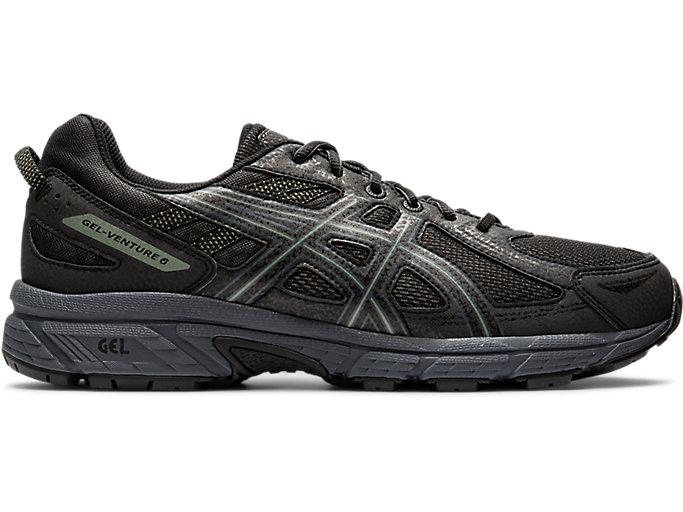 Men's GEL-VENTURE 6   Graphite Grey/Black   Running Shoes   ASICS