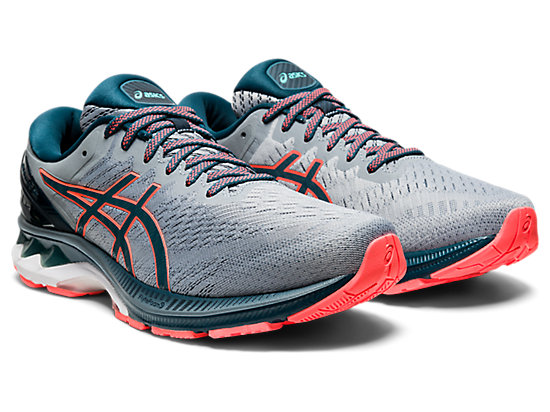 GEL-KAYANO 27 SHEET ROCK/MAGNETIC BLUE