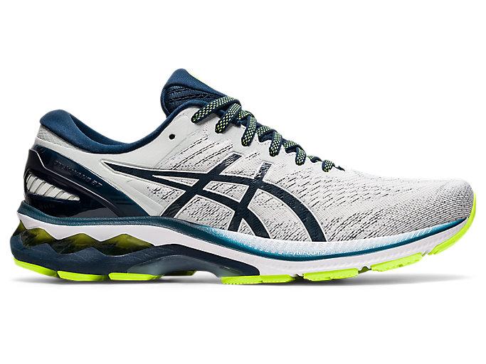 Men's GEL-KAYANO 27 | Glacier Grey/French Blue | Running Shoes | ASICS