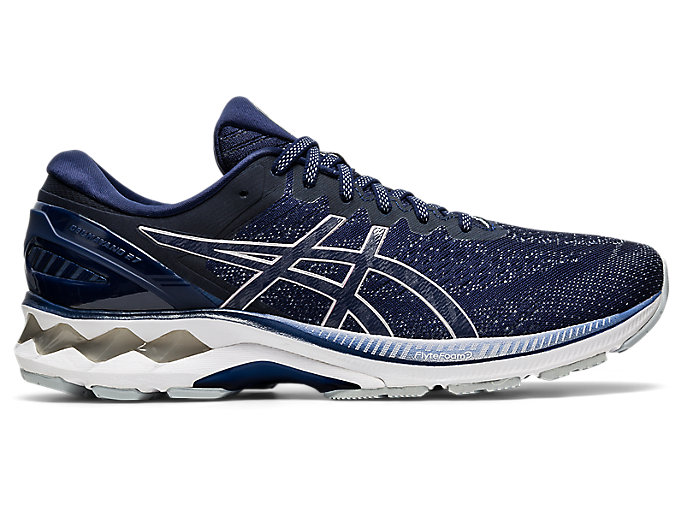 Men's GEL-KAYANO 27 | Peacoat/Piedmont Grey | Running Shoes | ASICS