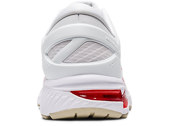 GEL-KAYANO 26 WHITE/CLASSIC RED