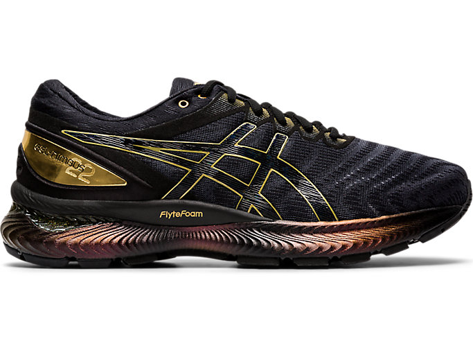 Alternative image view of GEL-NIMBUS 22 PLATINUM, Black/Pure Gold