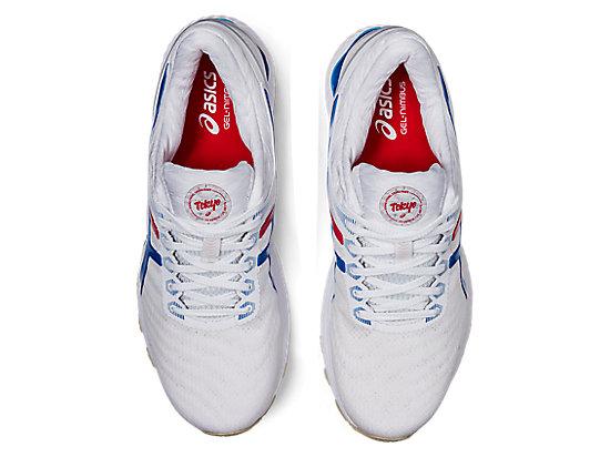 GEL-NIMBUS 22 WHITE/ELECTRIC BLUE