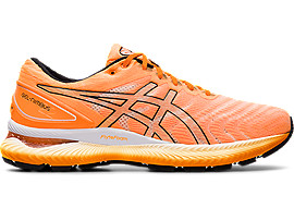 ASICS Gel - Nimbus? 22 Orange Pop / Black Hombre