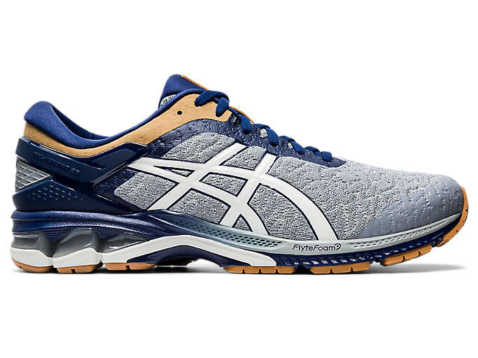 Alternative image view of GEL-KAYANO 26, GLACIER GREY/GLACIER GREY