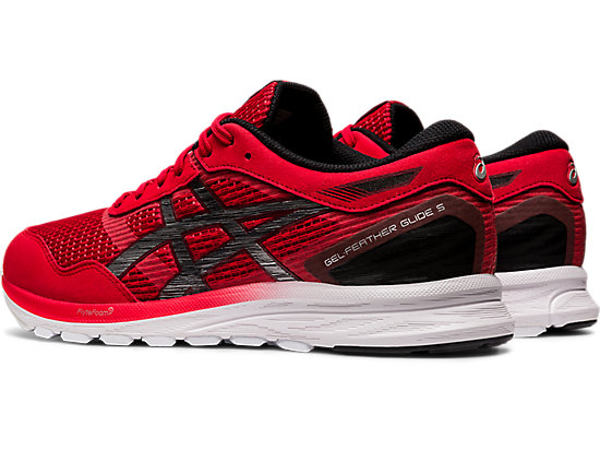 GEL-FEATHER GLIDE 5 CLASSIC RED/BLACK