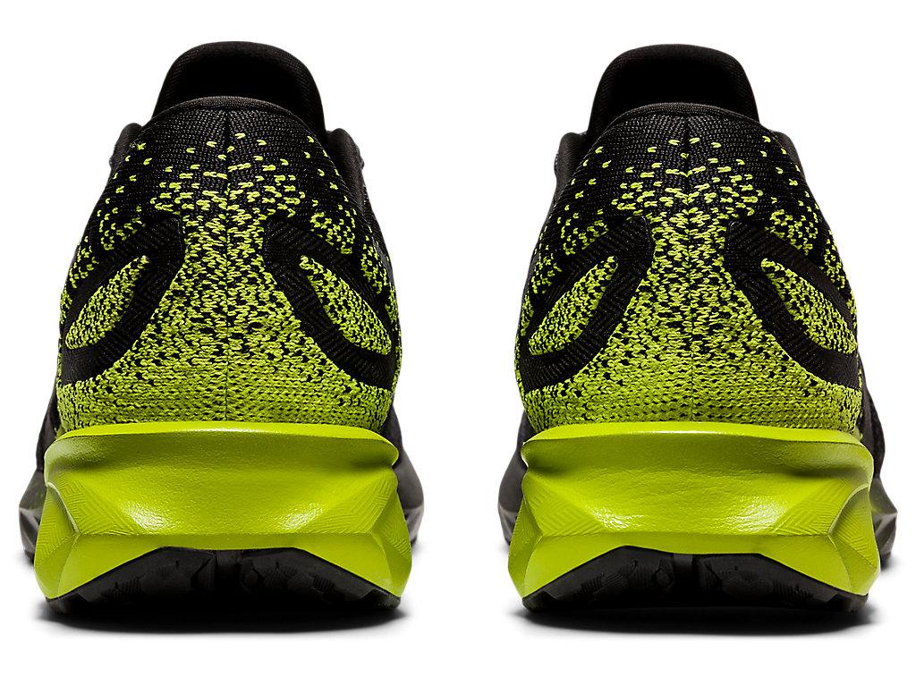 Men's DYNABLAST   Black/Lime Zest   Running Shoes   ASICS