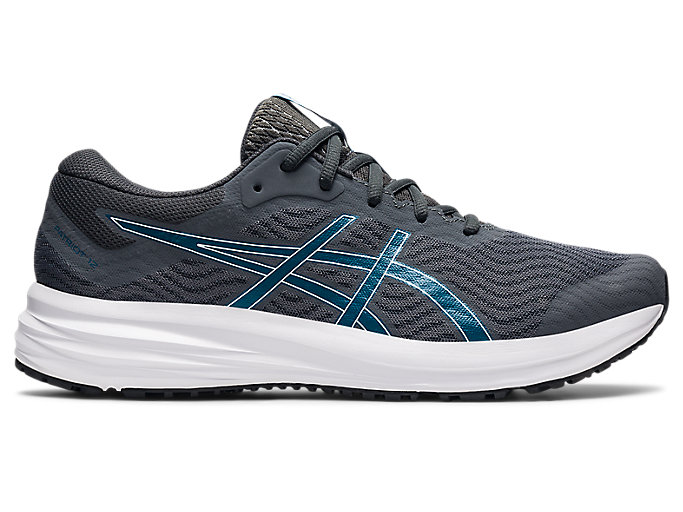 Men's PATRIOT 12 | Carrier Grey/Deep Sea Teal | Running Shoes | ASICS