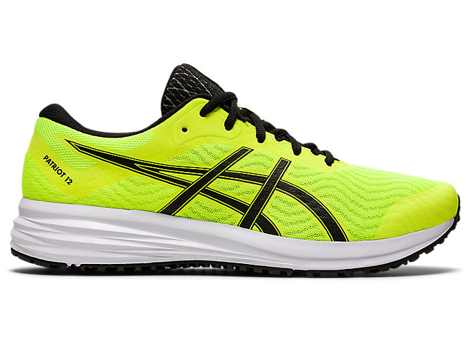 Derecho Económico Desfavorable  Men's PATRIOT 12 | SAFETY YELLOW/BLACK | Running Shoes | ASICS