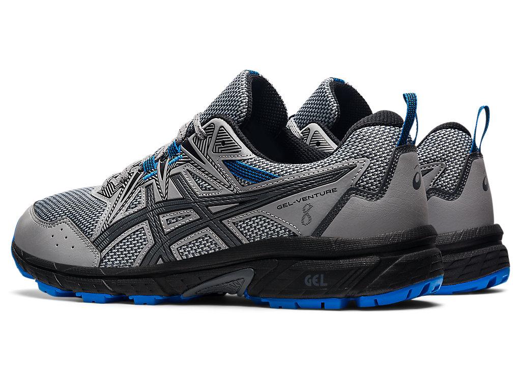 Men's GEL-VENTURE 8   Sheet Rock/Electric Blue   Trail Running   ASICS