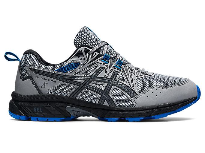 Men's GEL-VENTURE 8 | Sheet Rock/Electric Blue | Trail Running | ASICS