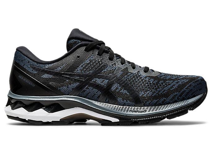 Men's GEL-KAYANO 27 MK | Black/Carrier Grey | Running Shoes | ASICS
