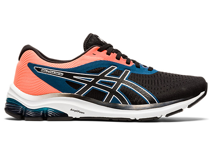 Men's GEL-PULSE 12 | Black/Pure Silver | Running Shoes | ASICS