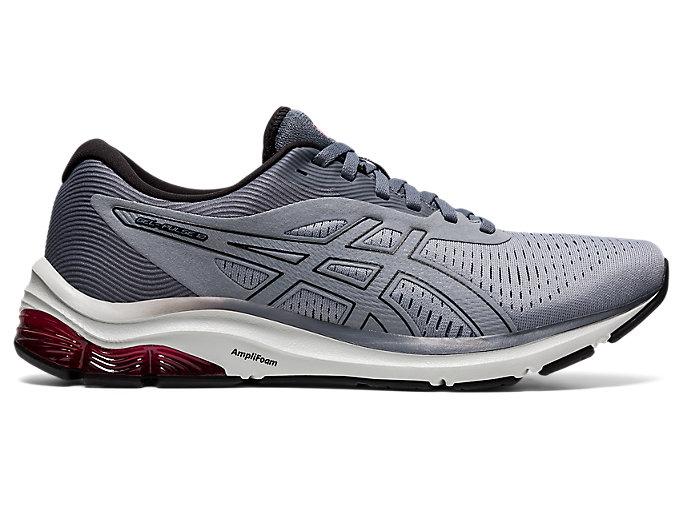 Men's GEL-PULSE 12 | Sheet Rock/Black | Running Shoes | ASICS