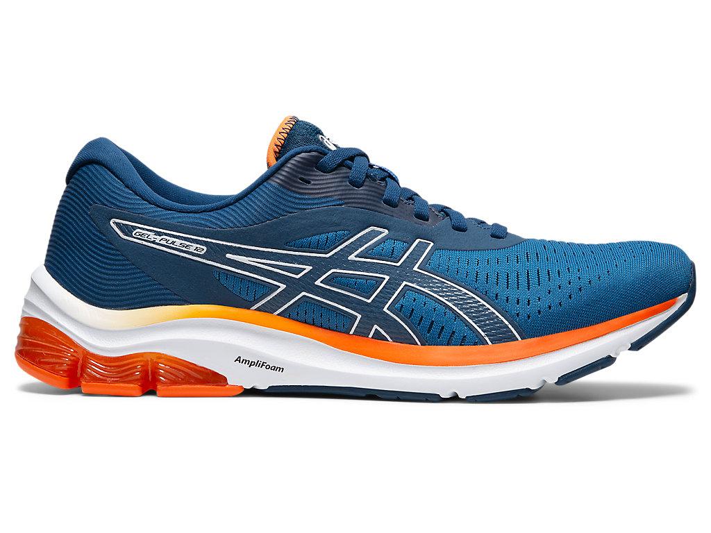Men's GEL-PULSE 12 | Reborn Blue/Mako Blue | Running Shoes | ASICS