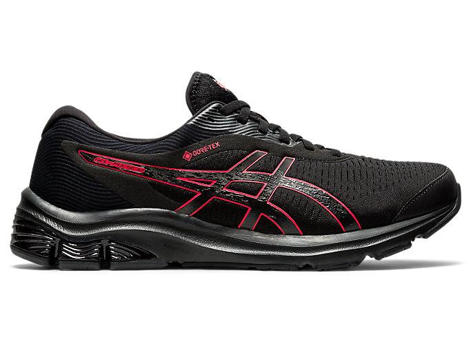 Men's GEL-PULSE 12 G-TX | Black/Black | Running Shoes | ASICS