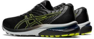 Men's GEL-CUMULUS 22   Graphite Grey/Lime Zest   Running Shoes   ASICS