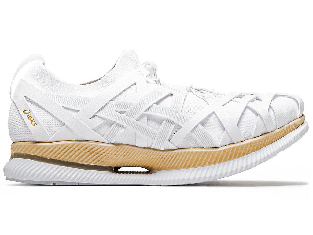 Men's METARIDE AMU   Cream/Cream   Running Shoes   ASICS