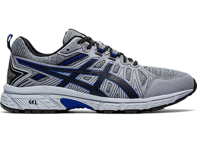 Men's GEL-Venture 7 MX (4E) | Sheet Rock/Asics Blue | Trail ...