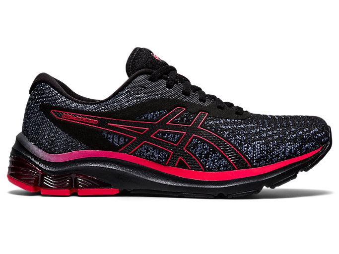 Men's GEL-PULSE 12 Knit   Black/Black   Running Shoes   ASICS